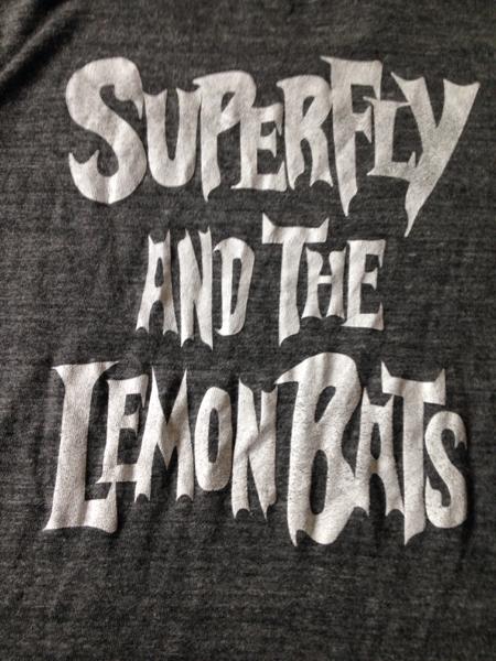 限定レア 新品 superfly and the lemon bats Tシャツ ライブグッズの画像