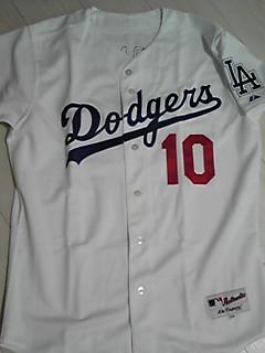 野茂英雄 ジャージ ドジャース MLB ユニフォーム グッズの画像