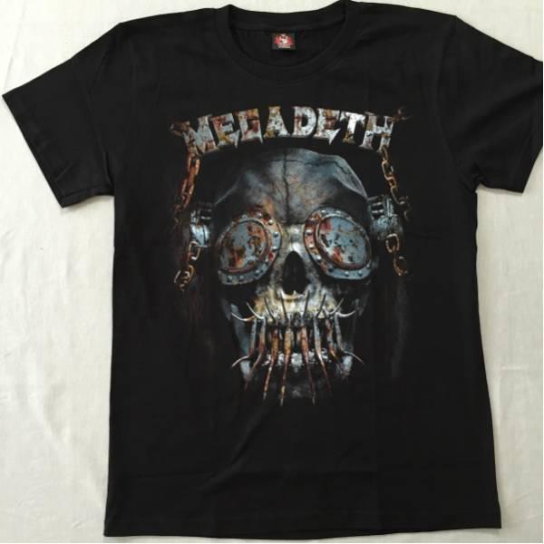 バンドTシャツ  メガデス(MEGADETH) 新品L