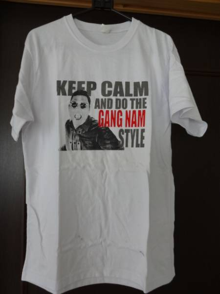 ☆ GANG NAM STYLE Tシャツ メンズ L ☆ USED