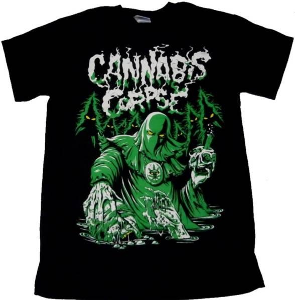 即決!CANNABIS CORPSE Tシャツ Mサイズ新品未着用【送料164円】