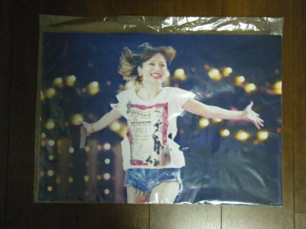 浜崎あゆみ グッズ TeamAyu限定 クリアポスター ライブグッズの画像