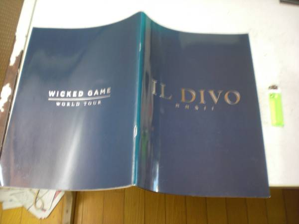 イル・ディーヴォ IL DIVO パンフ WICKED GAME WORLD TOUR