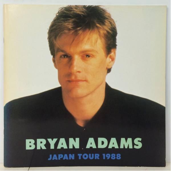 BOOK/BRYAN ADAMS/ JAPAN TOUR 1988 ツアー・パンフ (i646)