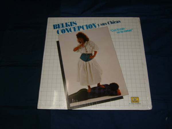 LP【Belkis Concepcion Y Sus Chicas】Con Lo Mio No Te Metas_画像1