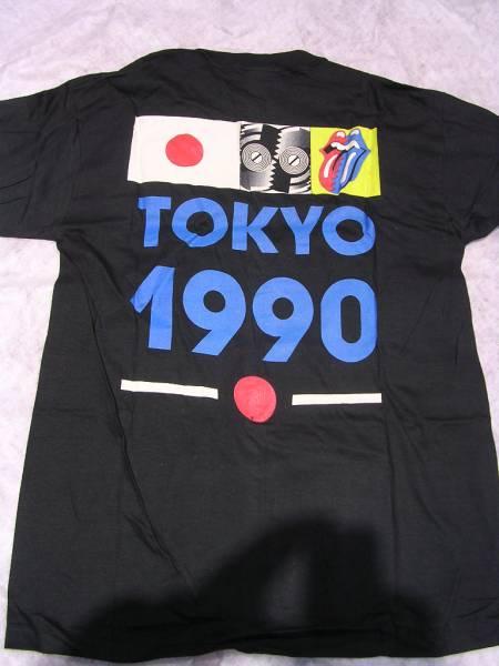 ローリングストーンズ 1990年 初来日 Tシャツ L 新品未使用 ライブグッズの画像