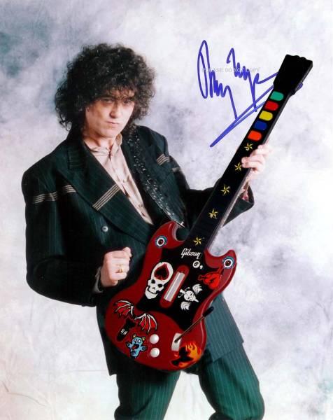 Jimmy Page ジミー・ペイジ サイン フォト