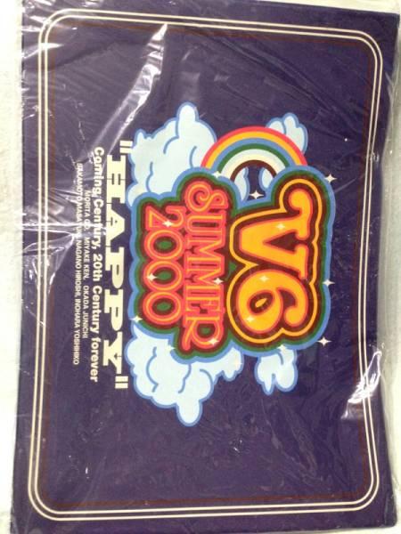 美品 V6 コンサートパンフレット HAPPY SUMMER2000 未開封