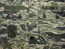 当時物ビンテージ ベトナム戦 パッチ付き タイガーカモ シャツ