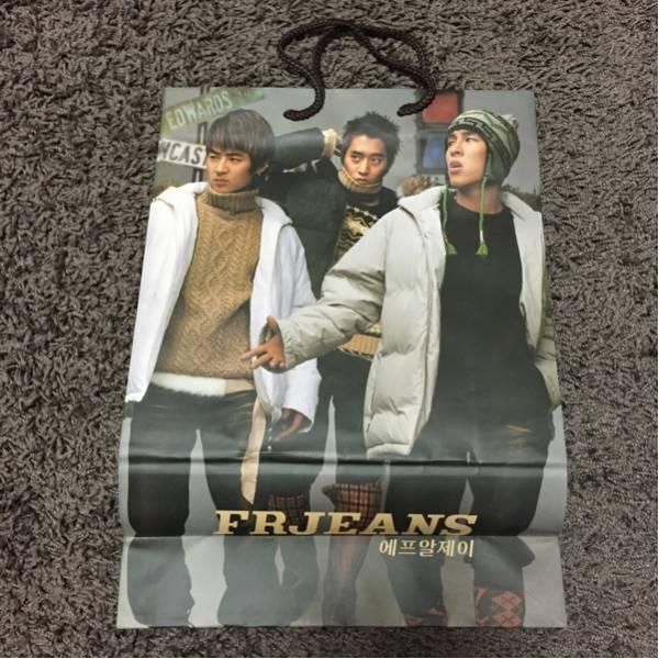 韓国★SHINHWA シンファ 神話 FRJEANS ショッパー 紙袋★SES コンサートグッズの画像