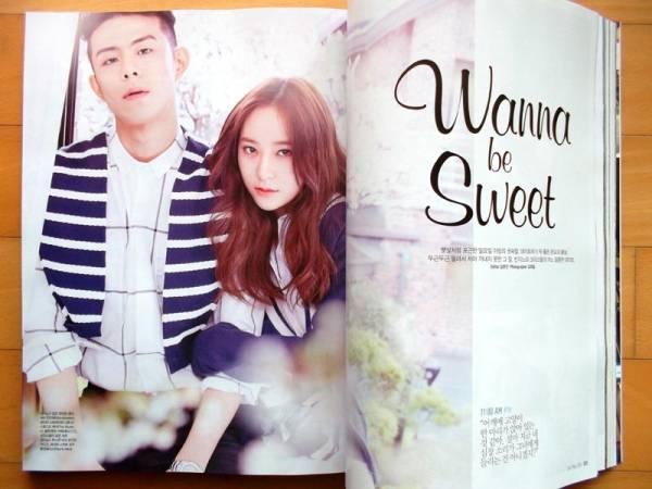 [F(X) クリスタル]韓国雑誌切り抜き8P+広告2P/2015年 5月号 ライブグッズの画像