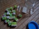 サンリオ:けろっぴ/ケロッピ:香り付消しゴム20個/字消し:ボトル