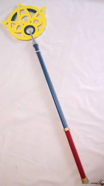 ファイナルファンタジーFF10 ユウナ召喚士の杖 コスプレ グッズの画像