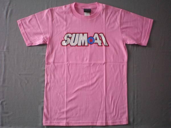 バンドTシャツ  サム41(SUM41)  ピンク 新品 M