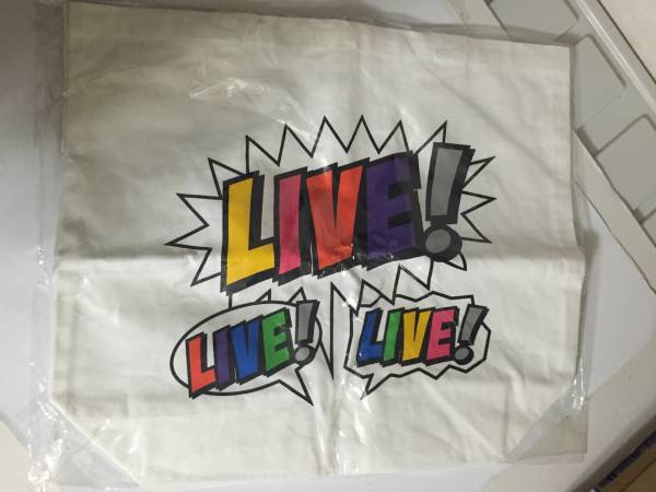 NEWS LIVE!LIVE!LIVE! トートバッグ 2010 中古