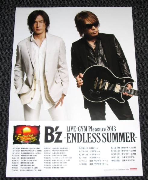 /SK ① Bz[LIVE Pleasure 2013 -ENDLESS SUMMER-]限定ポスター
