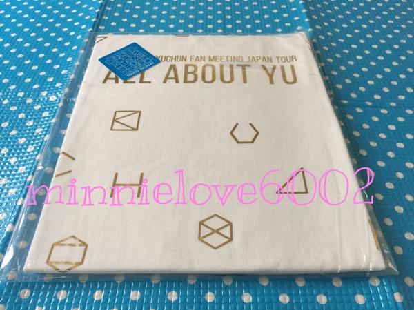 JYJ ユチョン ALL ABOUT YU ファンミ公式 Tシャツ 横浜 ゴールド ライブグッズの画像