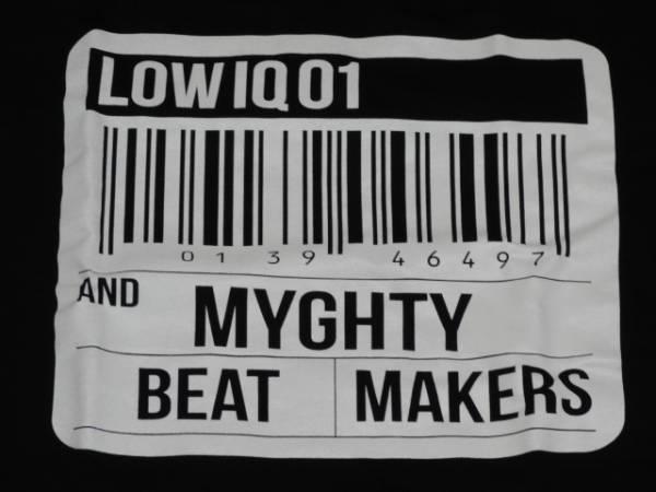 新品/LOW IQ 01 & MIGHTY BEAT MAKERS Tシャツ/MASTERLOW