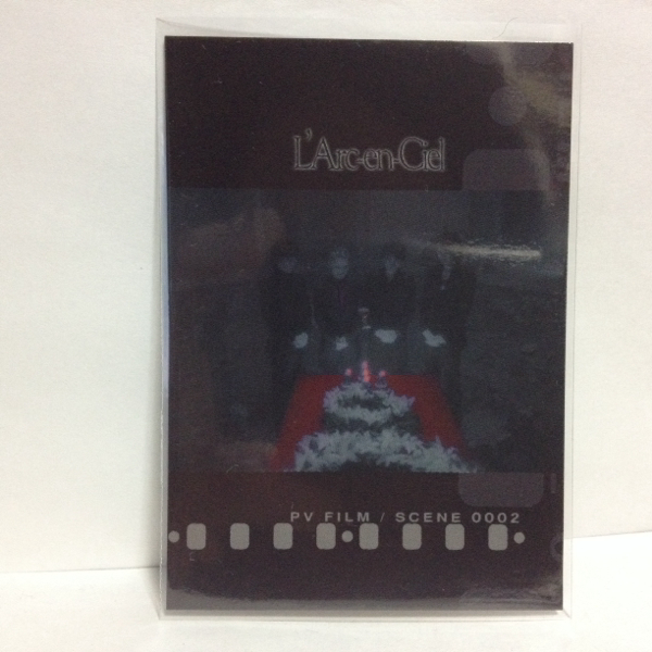 L'Arc~en~Ciel TRADING CARD PERFECT COLLECTION 再販 No.74