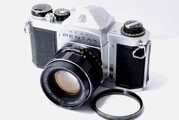 ◆ジャンク ASAHI PENTAX アサヒ ペンタックスS2  レンズ付◆