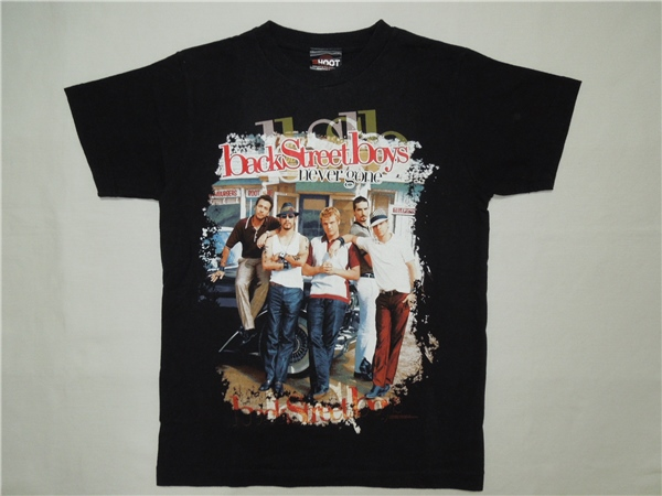 Back Street Boys♪never gone 2006 ツアー Tシャツ◆1066