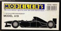 ■貴重品■Modeler's/モデラーズ 1/20 レジンキット MODEL A19