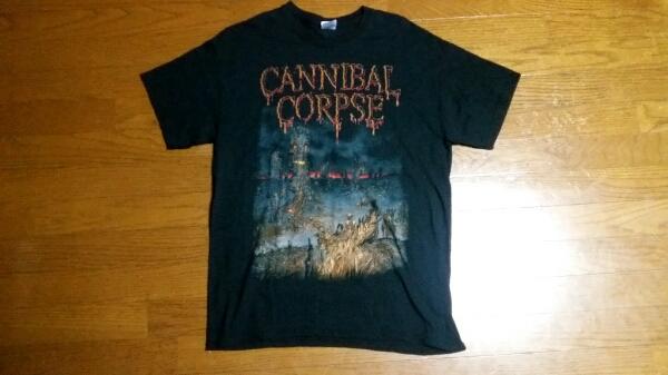 カンニバルコープスCANNIBAL CORPSEオフィシャルTシャツ