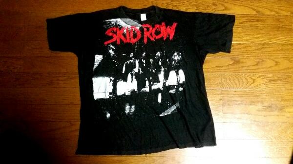 90年SKID ROWスキッドロウUSツアーTシャツ!GUNS N' ROSES