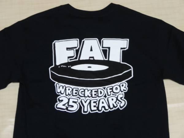 新品/FAT WRECKED FOR 25 YEARS TシャツS/NOFXHi-STANDARD