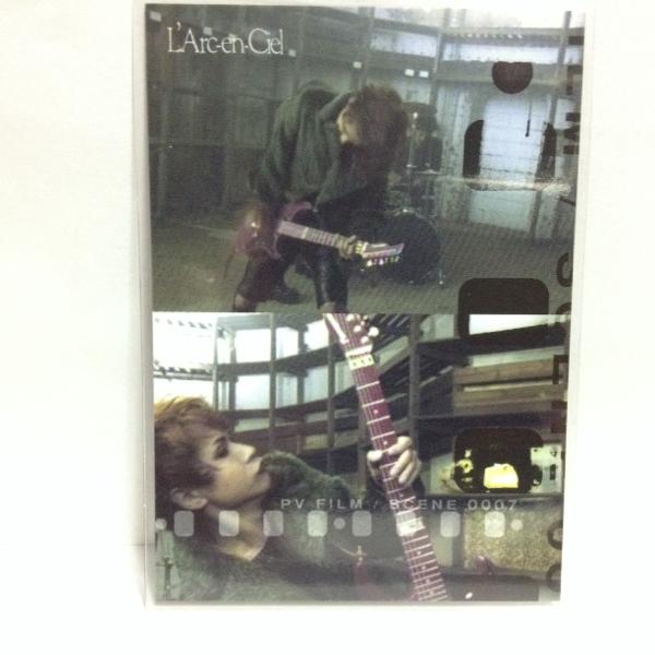 L'Arc~en~Ciel TRADING CARD PERFECT COLLECTION 再販 No.16