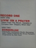 CanW-12' Bon Jovi/Livin' On A Prayer -Collectors Edition
