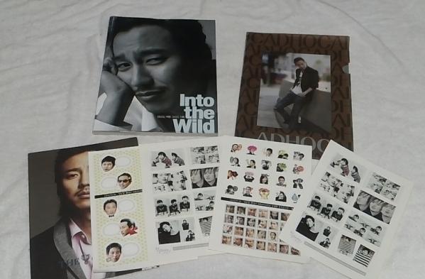 キムナムギル☆ 韓国 into the wild写真集 +オマケ