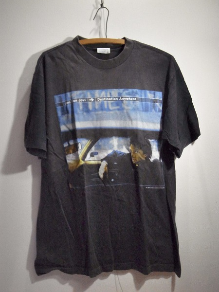 Jon Bon Jovi(ジョンボンジョビ)フォトtTシャツ USA製 M018