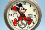 Ingersoll● 36' パイアイ ミッキーマウス懐中時計●5本指●OH