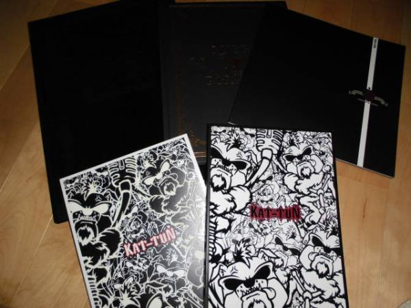 KAT-TUN ツアーパンフレット/5冊セット!