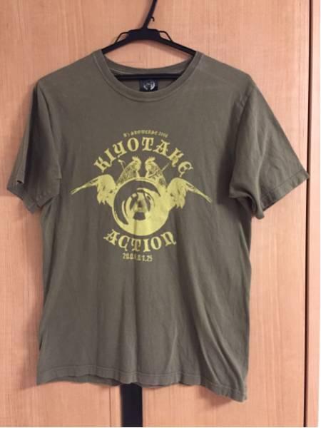 B'z SHOWCASE 2008 KIYOTAKE ACTION Tシャツ サイズM 稲葉浩志