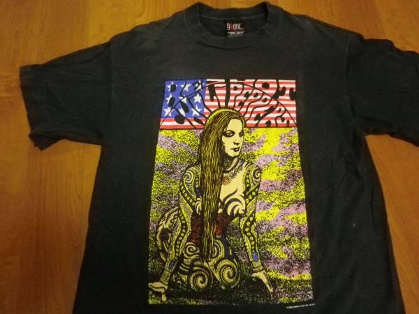 KOZIK'90 コピーライト入り レッドホットチリペッパーズ ビンテージ Tシャツ フジロック ライブグッズの画像