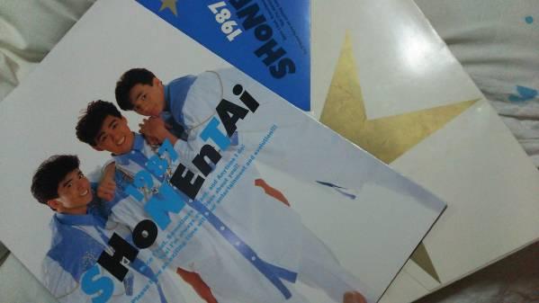 少年隊 87 コンサート パンフレット 貴重 激レア SMAP ジャニーズ コンサートグッズの画像