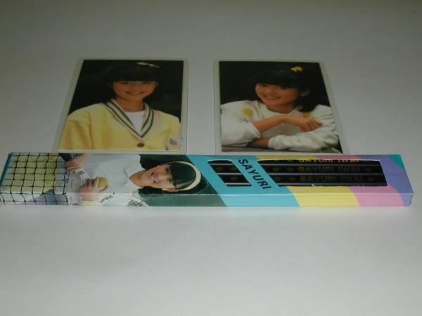 岩井小百合/ラミネートカード2枚鉛筆セット/A/新品//