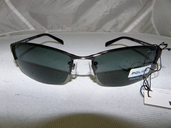 釣りに便利★偏光レンズ☆ポリスサングラスSPL024J(展示品未使用)