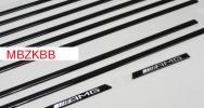 ベンツ Gクラス G63 G350 G550 エディション463 サイドモール 黒