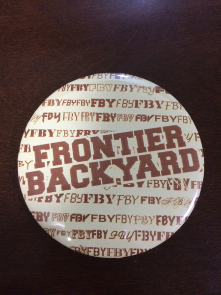 FRONTIER BACKYARDバッジ2Riddim Saunter the band apartQUATTRO