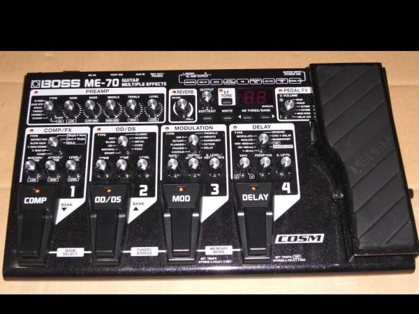 交換可●BOSS ME-70 ほぼ新品! 最上級 極上 マルチ 超良音! ボス