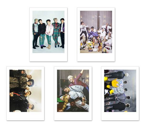 BIGBANG インスタントカメラ風 写真5枚セット