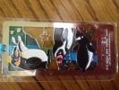マリンピア松島水族館★ペンギンのステンドグラス風しおり 栞★切手可 宮城県松島町 新品未開封