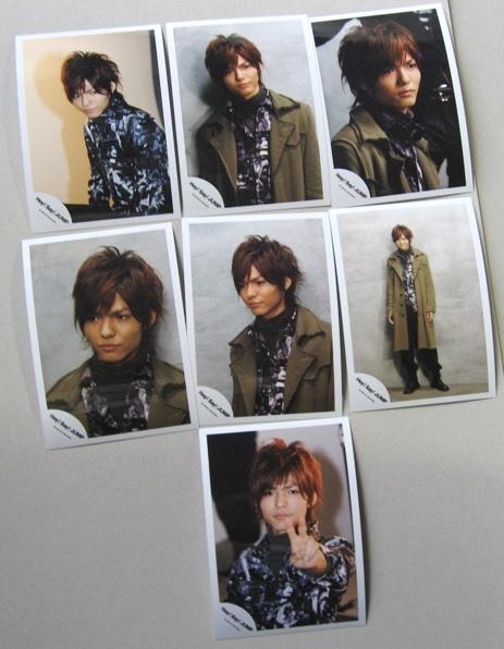 薮宏太写真 7枚  Hey!Say!JUMP  2008 /10 ショップ公式 コンサートグッズの画像