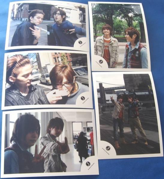 山田涼介中山優馬写真5枚 ニュ-ヨークへ2010発売新品