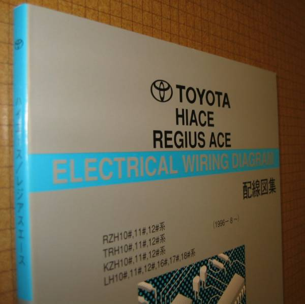 100 series Hiace wiring diagram compilation (1996/8~2004/8 ... on