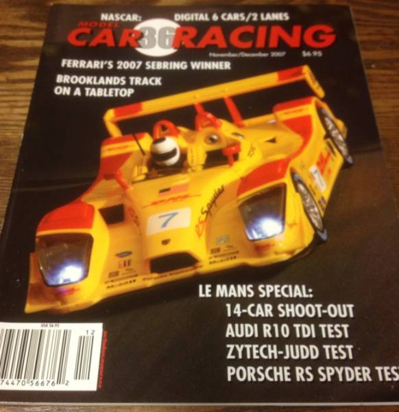 ●雑誌//MODEL CAR RACING vol.36★PORSCHE RS SPYDER_画像1