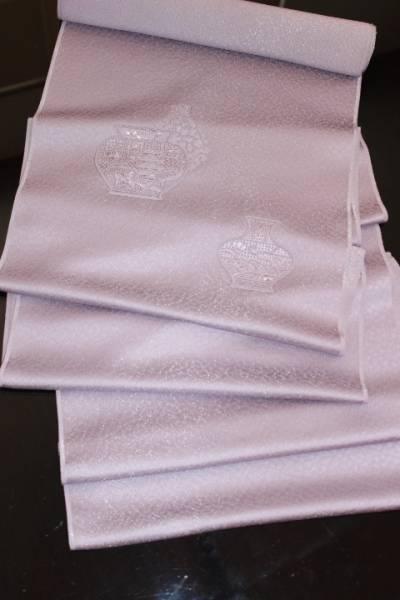新品 特選 正絹 染め九寸名古屋帯 反物_幅広い年代層にご利用頂けます。